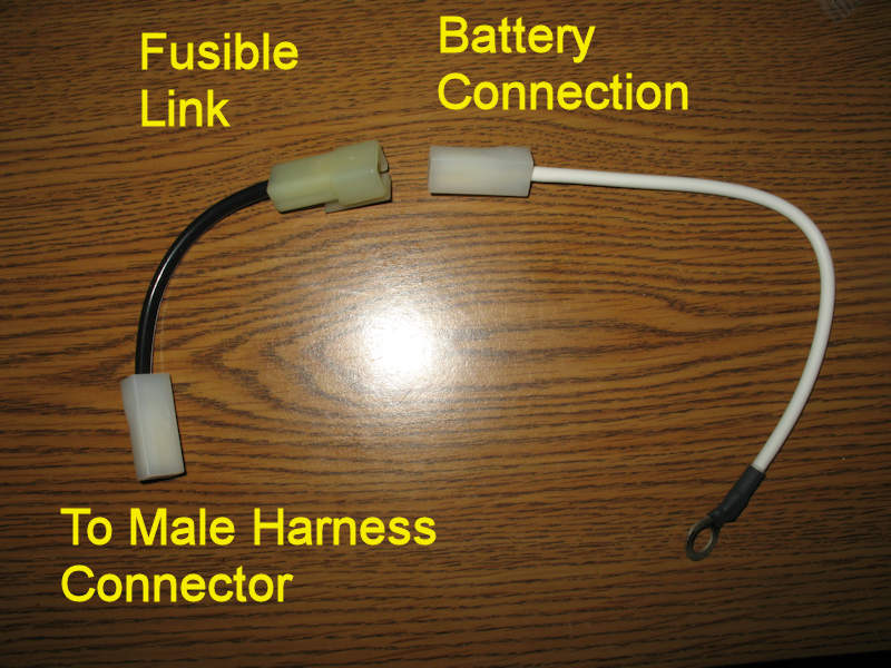 Battery Fusible Links : Fusible links