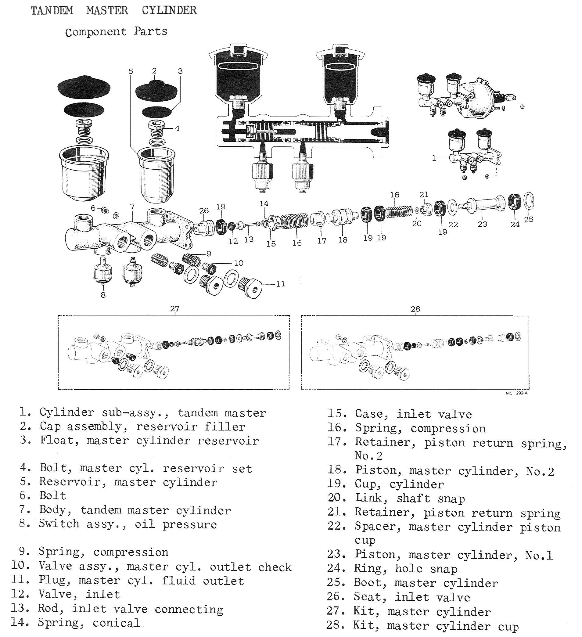 211BRAKES7 37 master cylinder rebuild