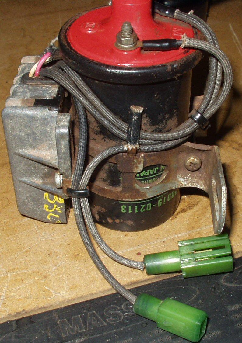 Installing A Fj60 Dizzy Toyota Distributor Wiring Coil Igniter2