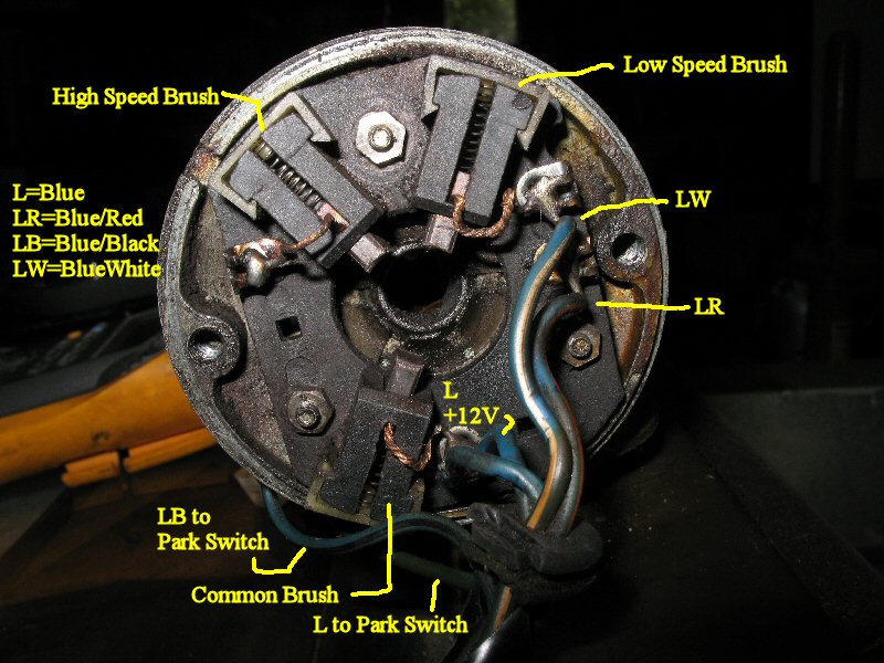 Fj40 Wiper Motor Wiring Diagram : How to wire a windshield wiper motor impremedia