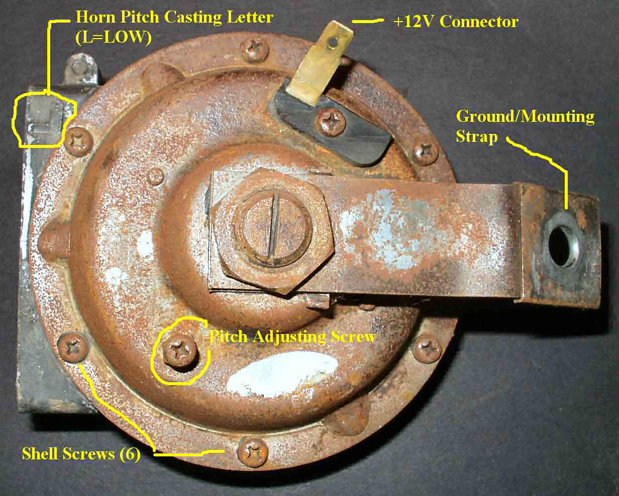 12 Volt Horn Wiring Fj40 Electrical Diagrams Diagram Online Schematic U2022 Relay