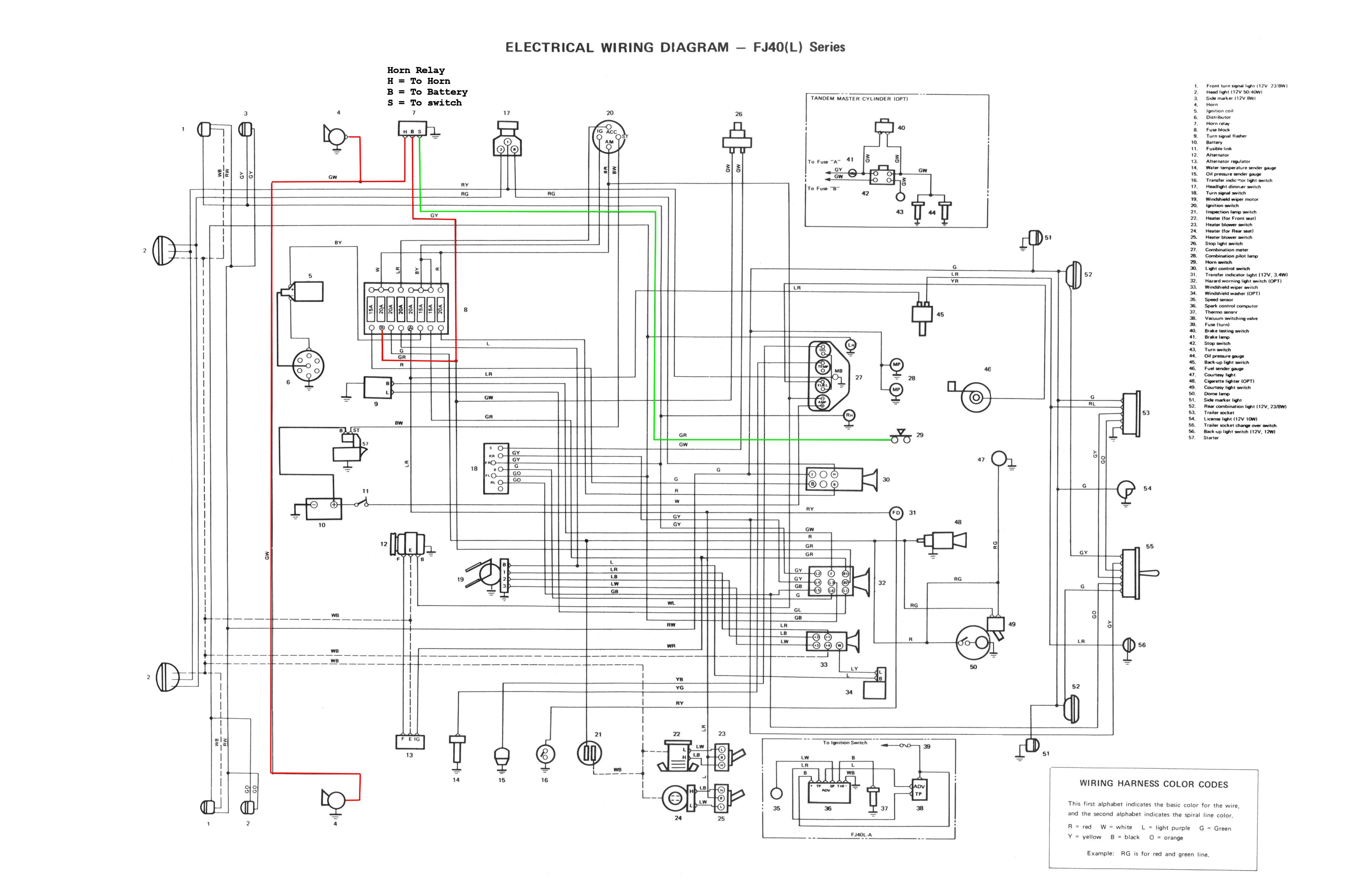 343ElectricalWiringDiagramFJ40(L) vdj79 wiring diagram toyota vdj79 wiring diagram \u2022 wiring diagrams In a 98 Dodge Dakota Wiring Harness at creativeand.co