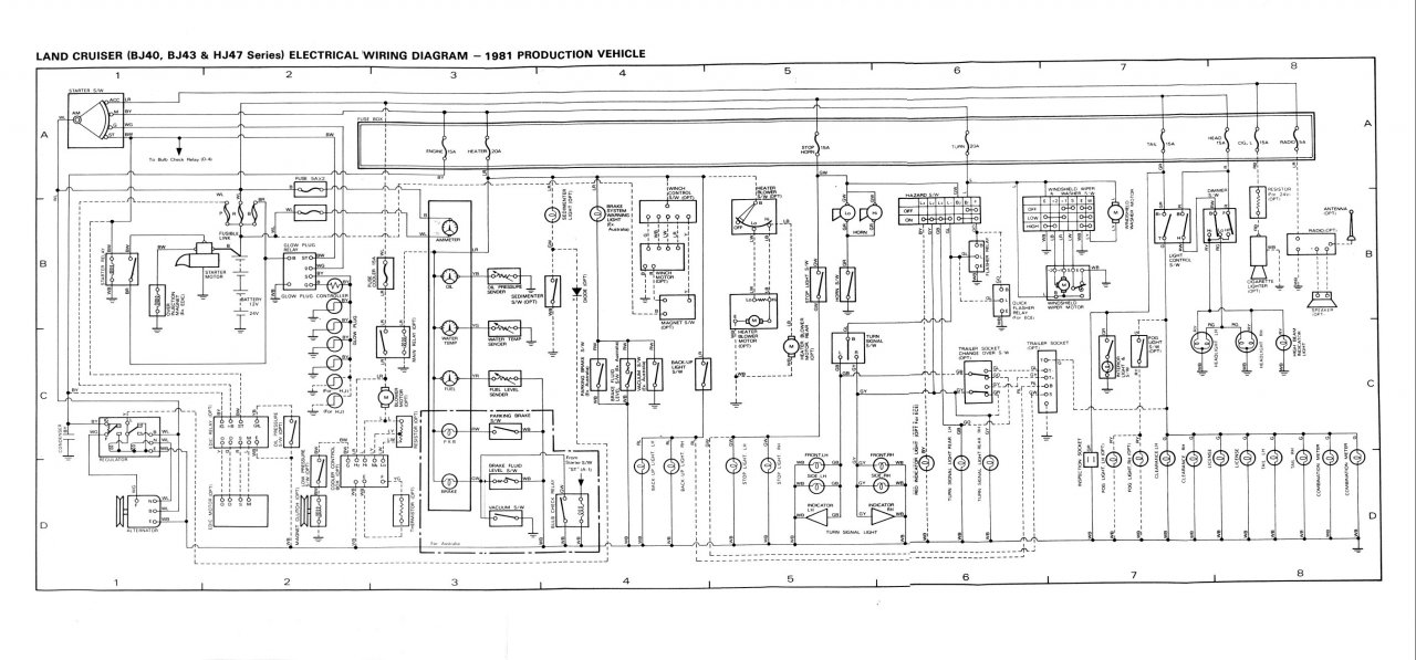 IS5q 244 as well 2007 Toyota Fj Cruiser Parts Diagram additionally Toyota Land Cruiser 90 And 2000 Series together with Fj40 Wiring Diagrams furthermore How To Install On Off Switch. on toyota fj cruiser electrical wiring diagram