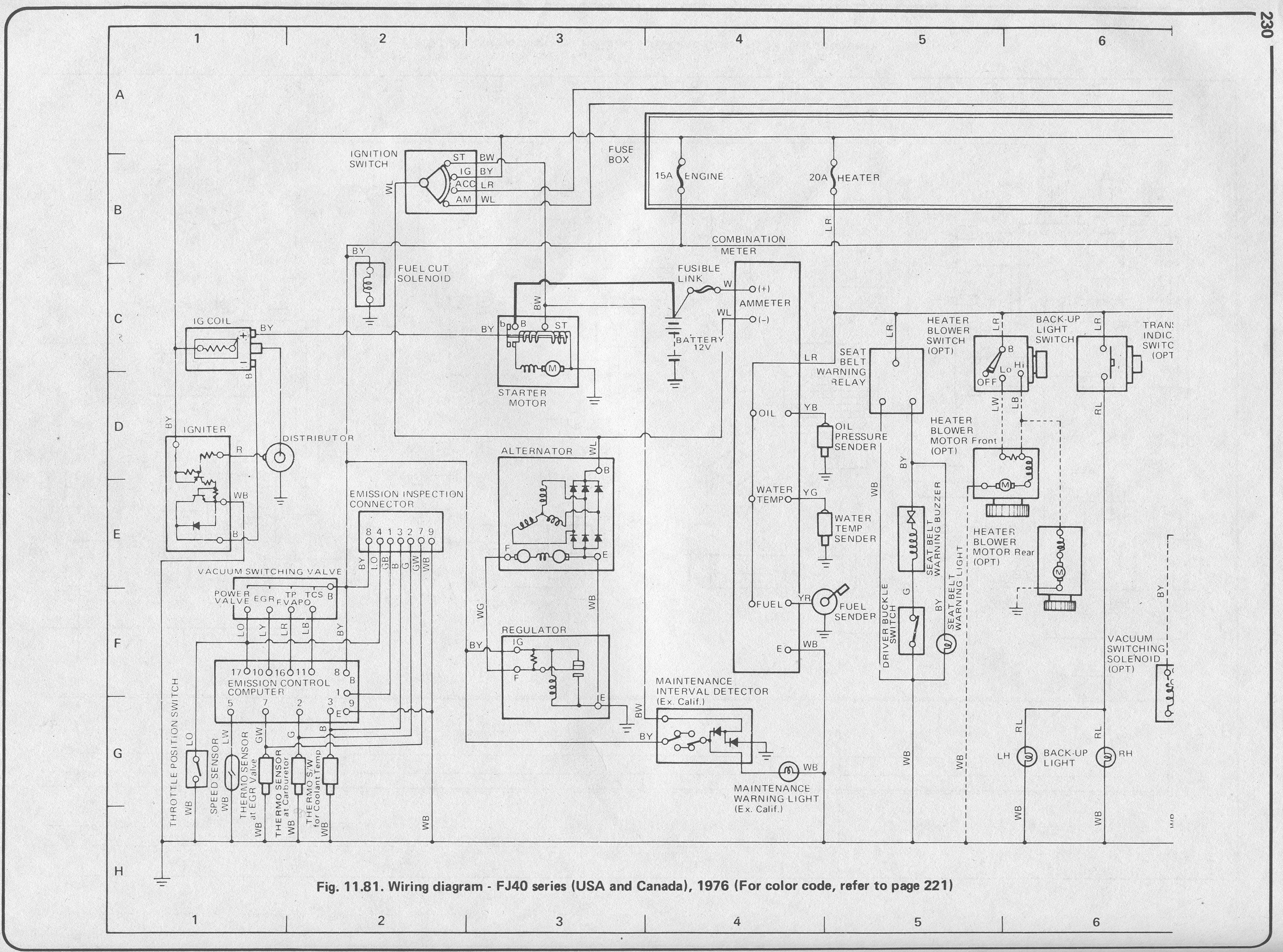 ... Fj40 Wiring Diagram Painless Opinions About Wiring Diagram ...